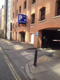 Tower bridge private car parking space