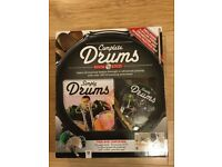 Hinkler Complete Drums Book & DVD - New - with Drumsticks, Practice Pad, DVD and Book