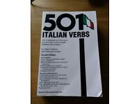 Italian verbs and beginners language books and cassettes