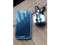 Samsung s4 in black lovely condition unlocked
