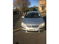 2005 VW Golf 1.4, 5 doors hatchback, petrol, Manual, 43,000 miles with full service history