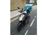 Fast 125 cc Scooter ready to go !