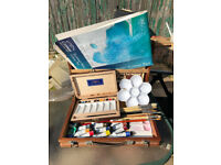 Watercolour painting equipment