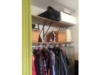 Shelves, heavy duty squares, hanging and fixings.