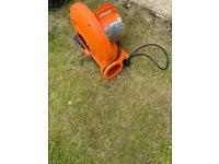 Air blower for bouncy castle