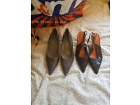 5 1/2 2 pajrs of heels