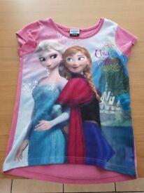 Kids Frozen short sleeve tshirt