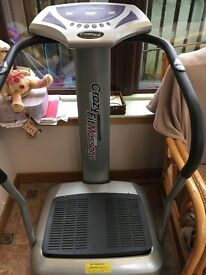 Vibration plate excellent condition. Selling for space