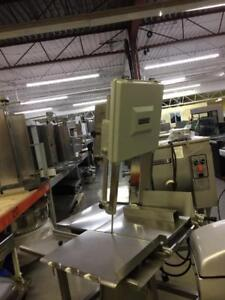 HORIZONTAL HOBART MEAT SAW USED