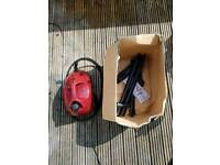 Polti steam cleaner with all attachments and original box