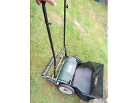 Webb push mower