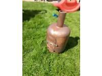 Garden heater, incinerator, burner