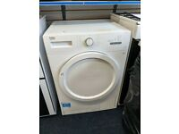 BEKO Freestanding Condenser Tumble Dryer 7kg DCX71100W Sensor Drying - White