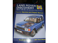 Land Rover Discovery 1 Haynes Manual