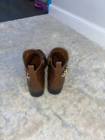 New Look Brown ankle Boots size 5