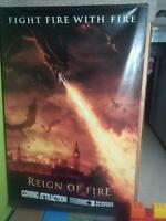 Reign of Fire Vinyl Movie Poster 6' Tall