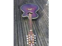 Crafter electro acoustic mandolin