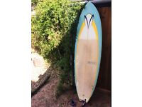 "VENON 6' 3"" VS WINGFISH SURFBOARD FOR SALE + EXTRAS - £320 O.N.O."