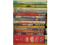 35 kids dvd movies job lot
