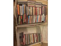 Over 160 cds and storage container pop soul chart instrumental etc