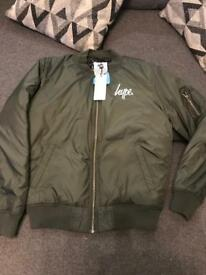 Boys hype bomber jacket BNWT age13 bought from next at Xmas paid £50