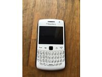 White Blackberry Curve USED