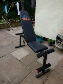 York adjustable bench