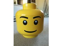Large stack and store Lego head