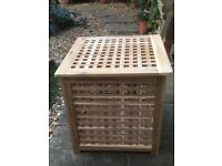 Square Wooden Storage Box/Coffee Table