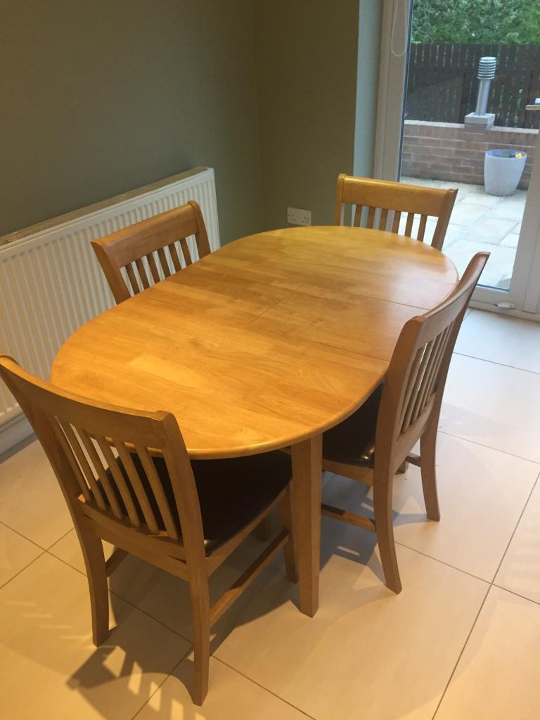 Buy Dining Table - Extendable - with 4 Chairs