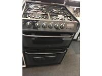 CANNON 60CM ALL GAS COOKER IN BROWN WITG LID