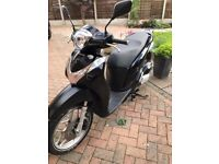 Honda SH 125cc Scooter, 2016 plate Low mileage, well looked after.