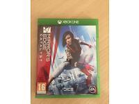 Mirrors Edge - Xbox one