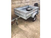 Trailer with electric hook up and more