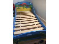 Dinosaur cot bed