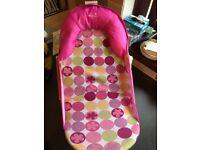 Baby Bath Seat - Pink