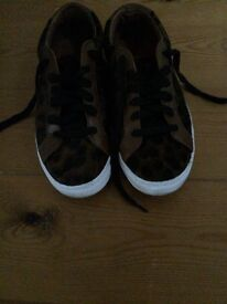 Marks and Spencer's animal print sneakers