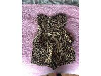 River island size 8 playsuit