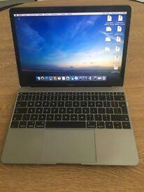 Macbook 12'' 2015 model space grey