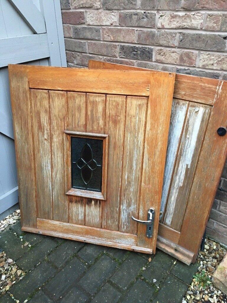 Solid Wood External Stable Door In Auckley South