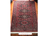 Lovely wool rug 231 cm long by 169 cm wide