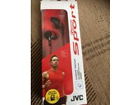 JVC HEADPHONES GUMY SPORTS