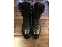 Black Size 8 Waterproof Boots