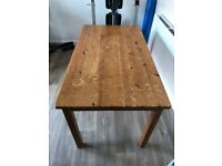 Characterful solid pine table