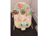 Bright starts bouncer chair
