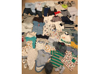 Huge Baby Boys Bundle. 3-6 Months. You won't need much more!