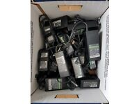 Job Lot of Sony Fujitsu Acer laptop chargers ( HP mostly )
