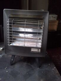 vintage Falks fire or radiant heater in working order collectors item