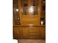 Wooden Display Showcase Cabinet