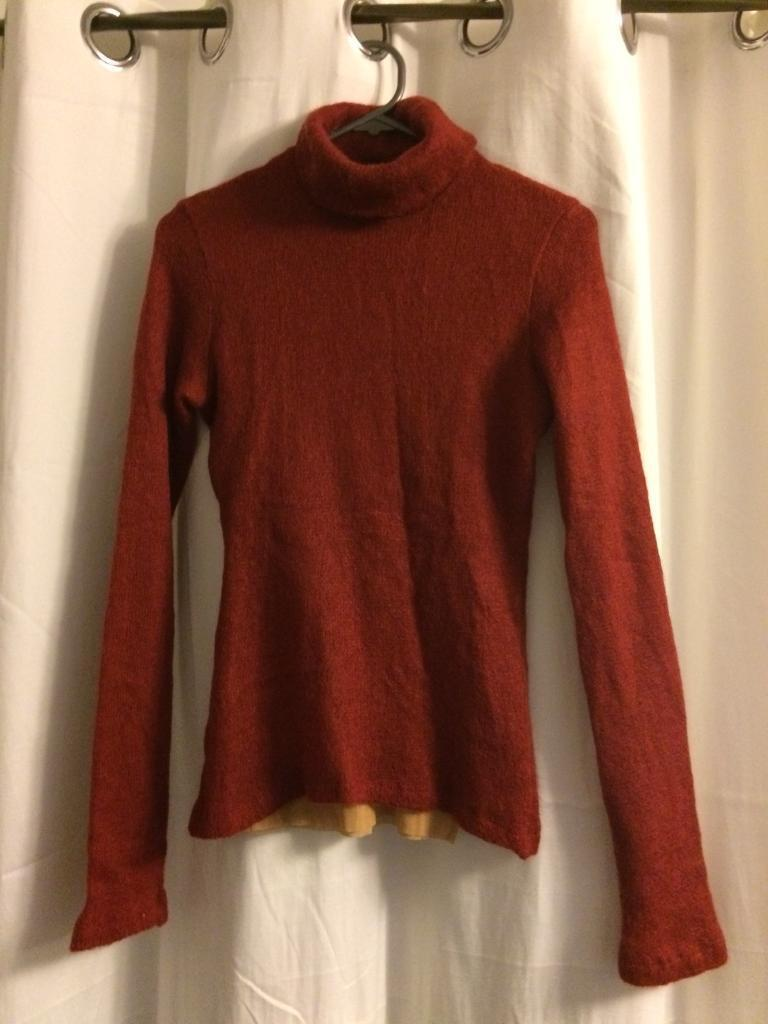 Plein sud jeans red lined jumper 6